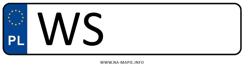 Rejestracja WS, miasto Siedlce