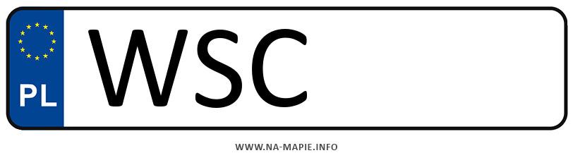 Rejestracja WSC, miasto Sochaczew