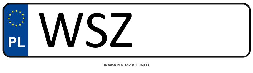 Rejestracja WSZ, miasto Szydłowiec