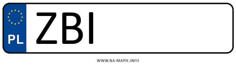 Rejestracja ZBI, miasto Białogard