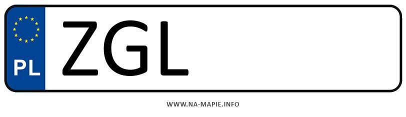 Rejestracja ZGL, miasto Goleniów