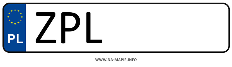 Rejestracja ZPL, miasto Police