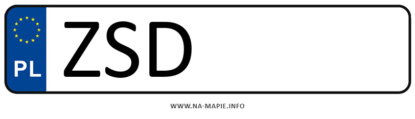 Rejestracja ZSD, miasto Świdwin