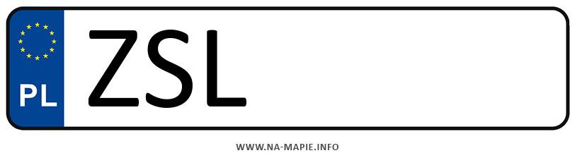 Rejestracja ZSL, miasto Sławno
